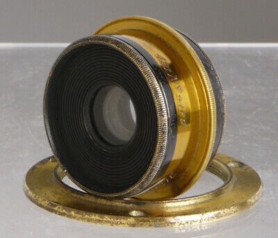 Crouch, English wide angle lens for Wood & Brass Plate Cameras _collodion_London