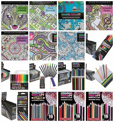 Colour Therapy Adult Colouring Books (Loads To Pick From)