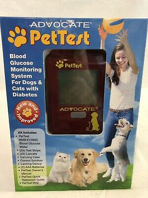 Pettest Blood Glucose Monitoring System For Dogs And Cats ***Opened Box***