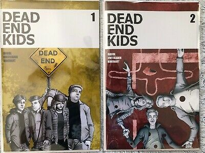Dead End Kids 1 And 2 Source Point Press Comic 2019 1st Print