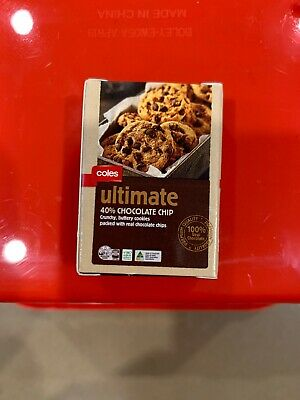 Coles Little Shop 2 Mini Collectables - Coles Ultimate Choc Chip Cookies
