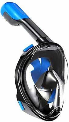 Octobermoon Original 180°Full view Panoramic full face Snorkel Mask.with anti-..