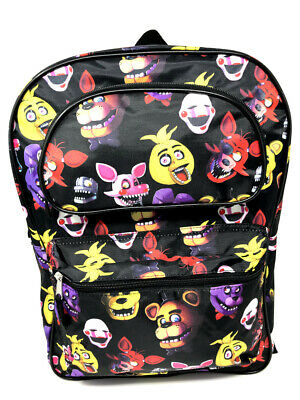 """Five Nights at Freddy's 17.5"""" Extra Large Backpack. Authentic Brand New."""