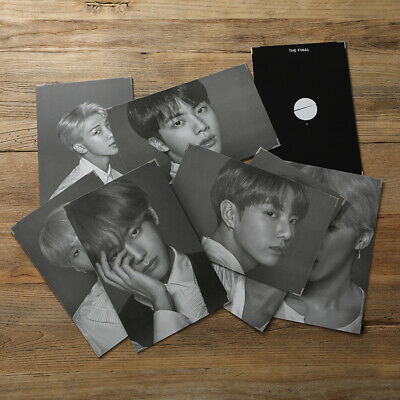 BTS WINGS Tour TRILOGY EPISODE Ⅲ IN V JIMIN JAPAN Poster Painting Photo Card