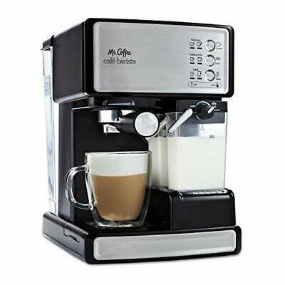 Mr. Coffee Cafe Barista Espresso and Cappuccino Maker  Silver