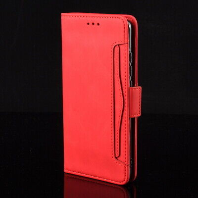 For iPhone XS Max XR 8 7 6s Plus Leather Slim Flip Wallet Card Pocket Case Cover