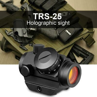 1 Pc Tactical TRS-25 Red Dot Sight Riflescope Holographic Optics Hunting 50°