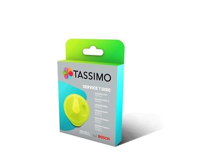 T-Disc Service Disk Cleaning 00576836 Maintenance for Coffee Maker Tassimo Bosch