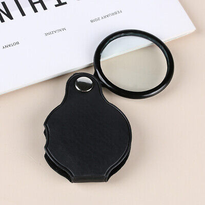Reading Magnify Glasses Jewelry Magnifier Eye Glass Lens Portable Pocket Loupe