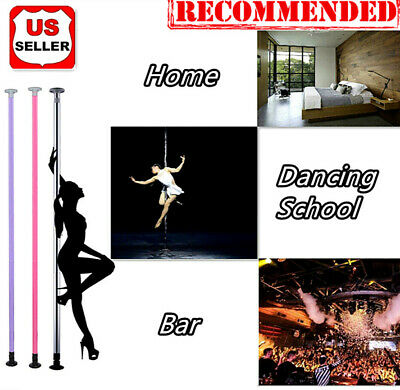 Portable Dance Pole Full Kit Stripper Exercise Fitness Club Party Dancing Party