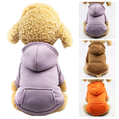 Dog Coats Chihuahua Clothes Sweatshirt Jacket Hoodie Costume for Pet Puppy Cat