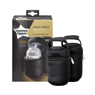 Tommee Tippee Closer to Nature Compact Lightweight Insulated Bottle Bag