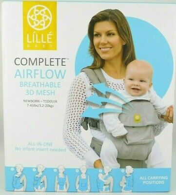 LILLEBABY Complete Airflow Breathable 3D Mesh Newborn-Toddler Baby Carrier