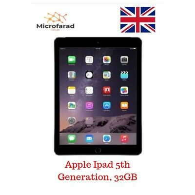 Apple  iPad 5th generation 32gb,WiFi,black,24hrs Dispatch, Free Delivery