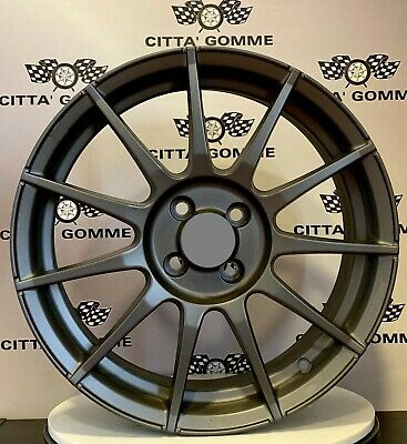 "Cerchi in lega Abarth 500 da 17"" NUOVI OFFERTA 595 ESSESSE TOP SUPER ITALY"
