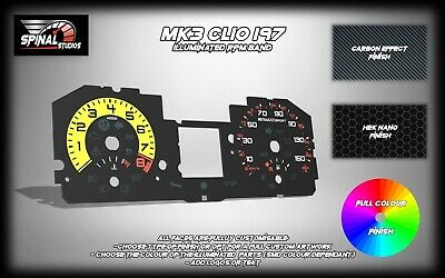 Renault Clio MK3 197 Custom Gauges