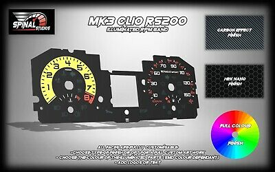 Renault Clio MK3 RS200 Custom Gauges