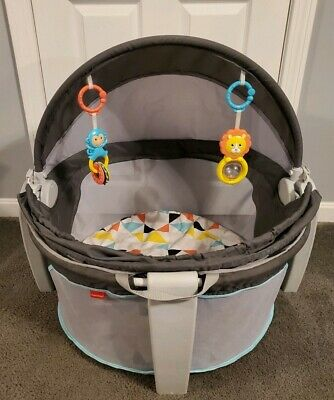 Fisher Price On the Go Baby Dome Play Dome with Bug Net and Toys