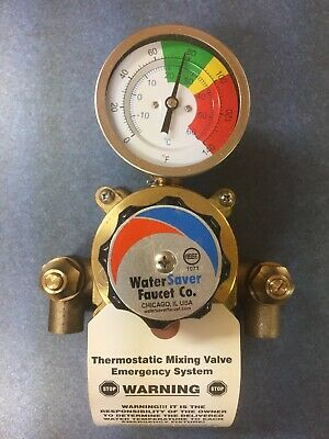 WaterSaver Faucet- THERMOSTATIC MIXING VALVE, 5 GPM AP3600