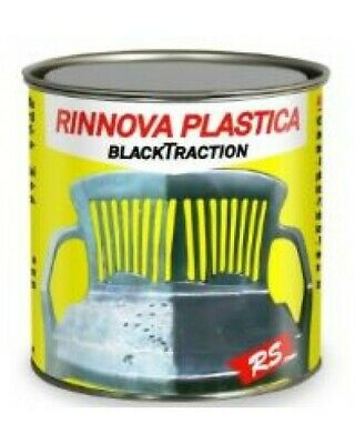 Rinnova Plastica, Vernici, Pvc E Gomma Blacktraction Rs Trasparente 100 Ml