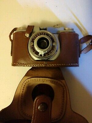 """Vtg.SPARTUS 35F """"Model 400"""" 35mm Film Camera by Herold Products As Is"""