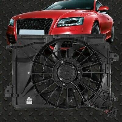 NEW DUAL FAN ASSEMBLY FOR MODELS WITH 6.2L FOR 12-15 CHEVROLET CAMARO GM3115245