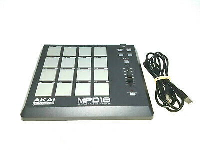 AKAI PROFESSIONAL MPD18 Compact Pad Controller - $60 00