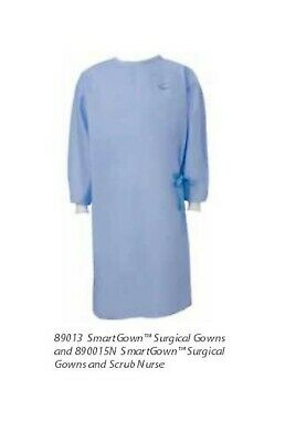 LOT of 8 Cardinal Health Smart Gown XL Standard  Surgical Gown NONSTERILE Smock