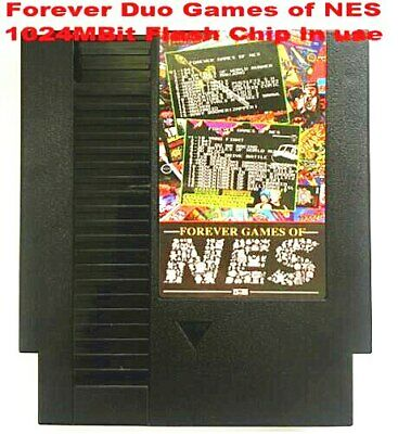 FOREVER DUO GAMES OF NES 852 in 1 (405+447) Game Cartridge Total 852 Games 🔥🔥