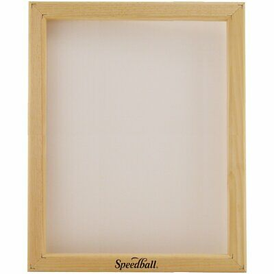 Speedball 4716 Screen Printing Frame Monofilament Screen Fabric 8 x 10""