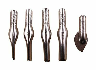 Speedball 4161 Linoleum Cutters 5 Assorted Carving Printmaking Cutter Types