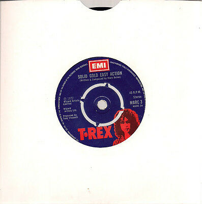 "TREX T [Tyrannosaurus] Rex Marc Bolan Solid Gold Easy Action UK 45 7"" single"