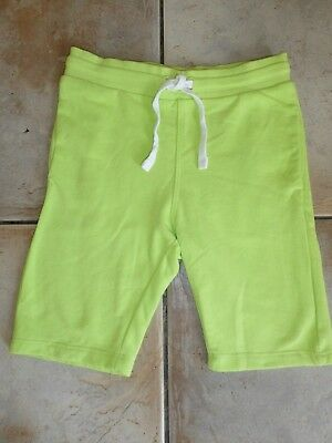 Boys H&M Bright Green Shorts 5-6 Years (Excellent Condition - Worn Once)