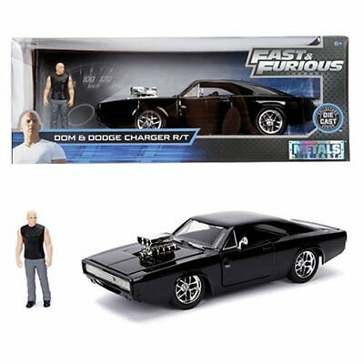 Hollywood Rides Fast & Furious Dodge Charger 1:24 Scale Die-Cast Metal Vehicle