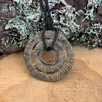 "Ancient Celtic Amulet Wheel/Pendant ""Proto money"""