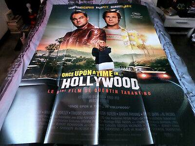 AFFICHE  TARANTINO / ONCE UPON A TIME IN HOLLYWOOD / mod 2