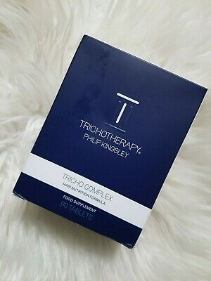 Philip Kingsley Tricho Complex 90 caps exp 08-20 THRICHOTHERAPY Hair Nutrition