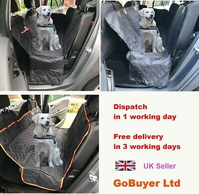 Waterproof Car Seat Cover for Dog Rear Dog Car Back Seat Protector Liner Hammock