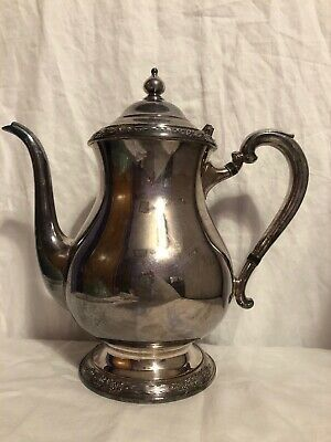 Vintage Camille International Silver Company 6002 Teapot