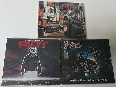 Riot Archives Volume 1: + Vol. 2 + Vol. 3 CD + DVD sets new High Roller Records