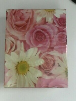 Hallmark Roses Daisies Playing Cards Double Deck Bridge Gift Set New Sealed