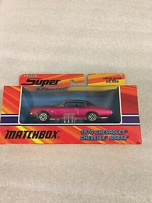 2005 Matchbox Classic Super Kings P 1970 Chevrolet Chevelle SS454 1/43