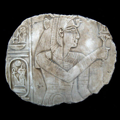 Ancient Egyptian Isis or Queen sculpture Wall Relief plaque replica