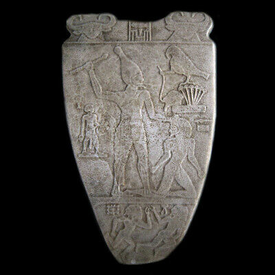 Narmer Palette Egyptian Museum wall sculpture plaque relief replica reproduction