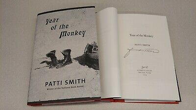 New Patti Smith Year of the Monkey Signed Book 1/1 HC DJ Just Kids Memoir Sequel