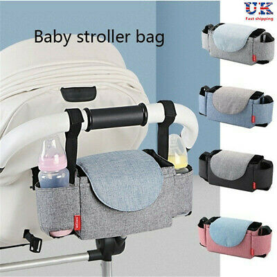 Buggy Pram Bag Organiser Large Capacity for Baby Accessories Stroller Cup Mummy
