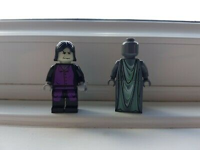 Lego Harry Potter Maurauders Map Statue And Professor Snape Minifigure From Set