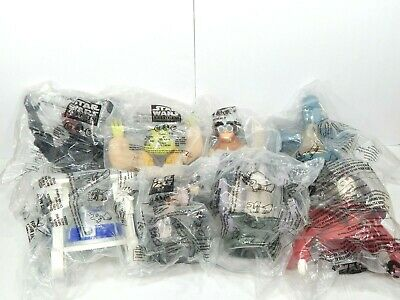 Star Wars Episode 1 Taco Bell KFC Pizza Hut Cup Topper Lot of 8 Pieces 1999