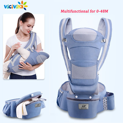 Baby Travel Carrier 0-48 M Ergonomic Baby Carrier Infant Baby Hipseat Carrier