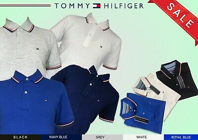 Tommy Hillfiiger Polo Shirt for Men Short Sleeve for Sale - 5 Colours